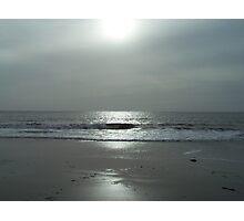 Sunset on Beach Photographic Print