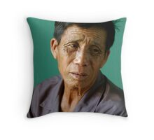 Vietnamese Fisherman Throw Pillow