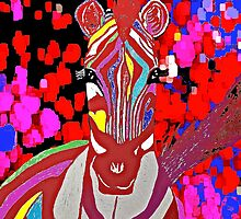 I Dreamed About A Red Zebra by Saundra Myles