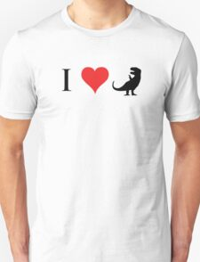 I Love Dinosaurs (small) T-Shirt