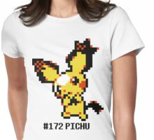 Spiky Eared Pichu Devamp  Womens Fitted T-Shirt