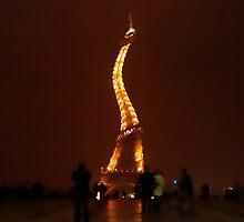 Dancing Eiffel by Christophe Claudel