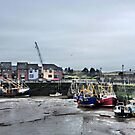 Maryport Harbour by Lilian Marshall