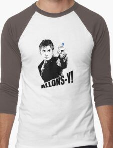 allons-y! Men's Baseball ¾ T-Shirt