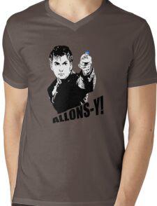 allons-y! Mens V-Neck T-Shirt