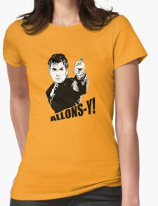 allons-y! Womens Fitted T-Shirt