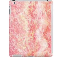 Cool Pink Wave Abstract  iPad Case/Skin
