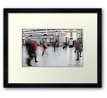 Take a breath! Framed Print