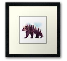 Forest Bear Framed Print