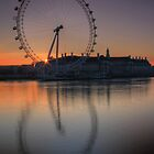 Sunrise through the Eye by Martin Griffett
