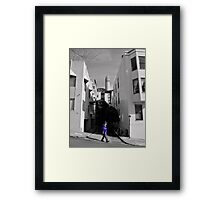 Zippy the PostMan and Coit Framed Print