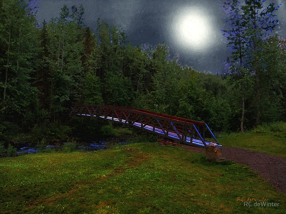 Night Crossing by RC deWinter