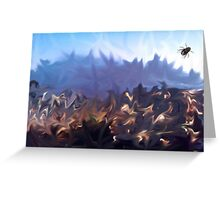 Fly in, fly out Greeting Card