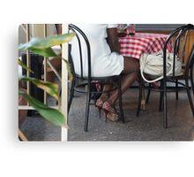 bling bling high heels Canvas Print