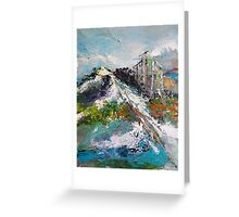 Top Point of View Greeting Card