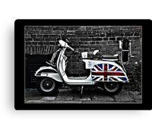 Lambretta for Sale Canvas Print