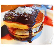 Pancake drool Poster