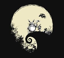 Neighbour Before Christmas - Totoro Women's Fitted Scoop T-Shirt