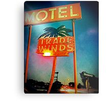 The Tradewinds Motel Metal Print