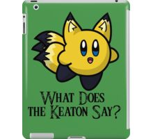 What Does He Say? iPad Case/Skin