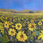 Sunflower Field by HelenBlair