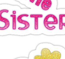 Bestest Little Sister Sticker