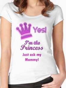 Princess shirt Women's Fitted Scoop T-Shirt