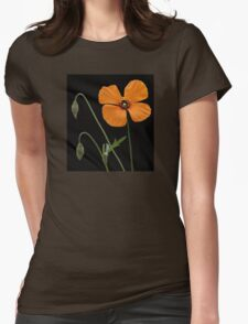 A Touch Of Orange Womens Fitted T-Shirt