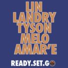 Knicks. Ready. Set. Go, NY! by mdoydora
