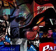 Street art by Christophe Claudel