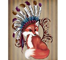 The Fox Chief Photographic Print