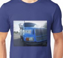 *Road works Truck - parked in front of House*  Unisex T-Shirt