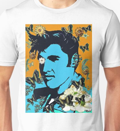 Flowers for the King of Rock and Roll Unisex T-Shirt