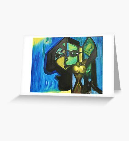 Dark Mind Greeting Card