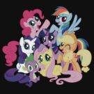 mane six by timothy hance