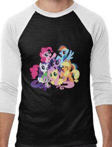 mane six Men's Baseball ¾ T-Shirt