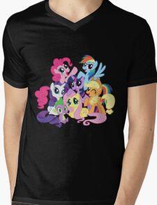 mane six Mens V-Neck T-Shirt