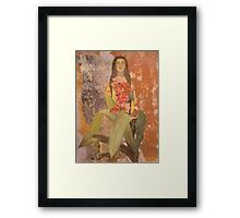 My Bleeding Heart Framed Print