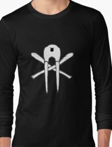 Skull and Oosiks Long Sleeve T-Shirt