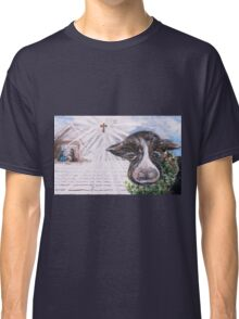 Christmas Cow - Oh to Have Been There... Classic T-Shirt