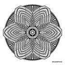 Mandala 39 Prints, Cards & Posters by mandala-jim