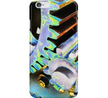 Abstract Gears iPhone Case/Skin
