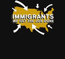 Hamilton - Immigrants, we get the job done. (Black) T-Shirt