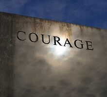 COURAGE by Gretchen Dunham