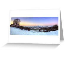 Greenwich Park Panorama Greeting Card