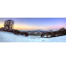 Greenwich Park Panorama Photographic Print