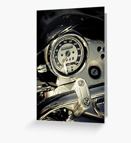 13K on the Road Greeting Card