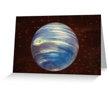 The world is round.... Greeting Card