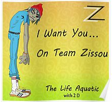Life Aquatic - With 2 D From The Gorillaz Poster