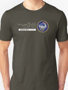 Moby Dick - 320th SQ - 90th BG - 5th AF    Emblem (White) Unisex T-Shirt